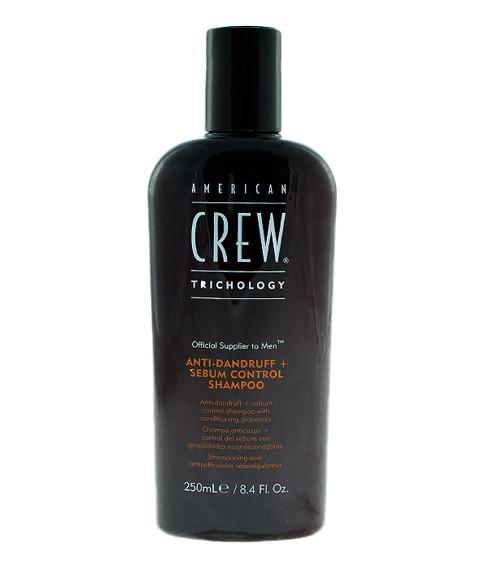 American Crew-Anti-Dandruff Sebum Contrul Shampoo 250ml
