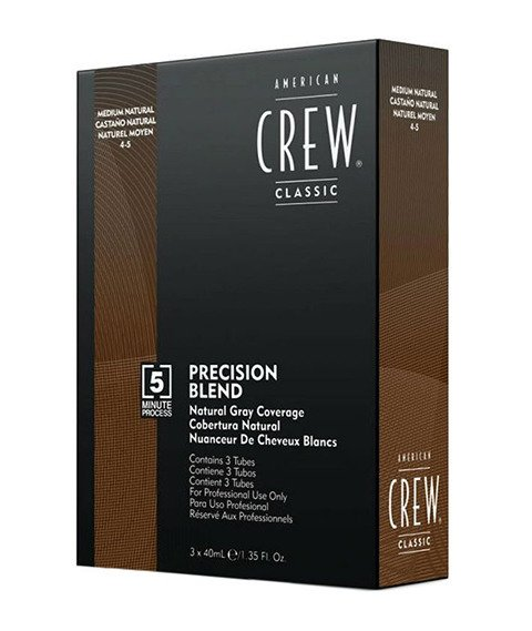 American Crew-Precision Blend Farba Odsiwiacz do Włosów Medium Natural