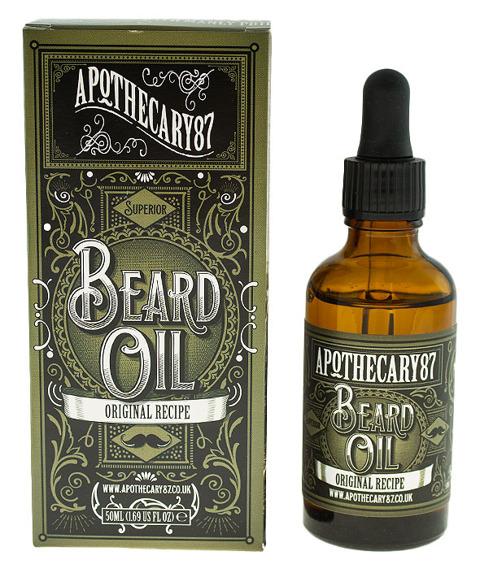 Apothecary 87-Original Recipe Beard Oil Olejek do Brody 50 ml