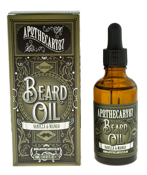 Apothecary 87-Vanilla & Mango Beard Oil Olejek do Brody 50ml