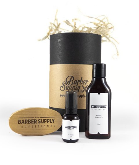 Barber Supply Professional-Beard Care Kit Zestaw