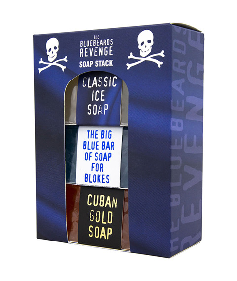 Bluebeards Revenge-Soap Stack Zestaw Mydeł do Ciała