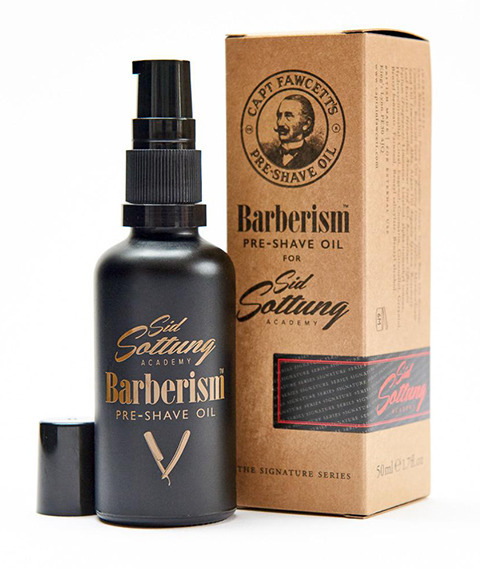 Captain Fawcett's-Barberism Pre-shave Oil Olejek do Golenia 50 ml