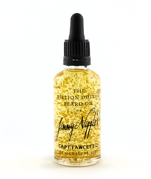 Captain Fawcett's-Jimmy Niggles Million Dollar Beard Oil Olejek do Brody 50 ml