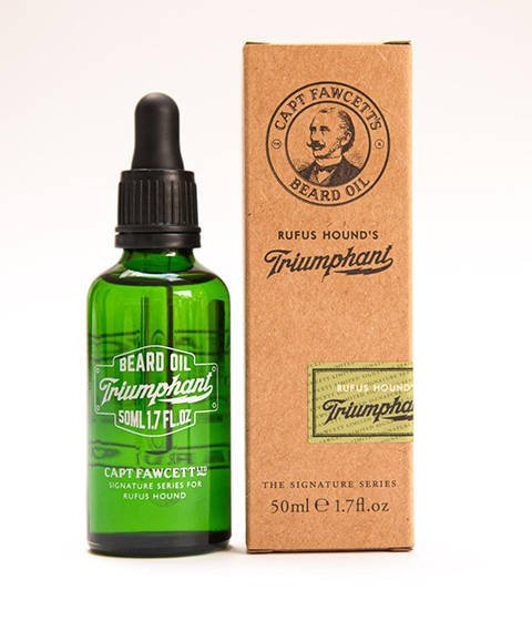 Captain Fawcett's-Triumphant Beard Oil Olejek do Brody 50 ml