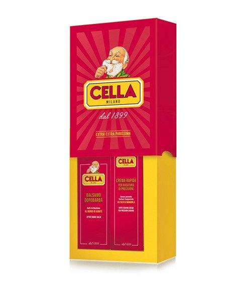 Cella-Krem do Golenia + Balsam po Goleniu Zestaw do Golenia