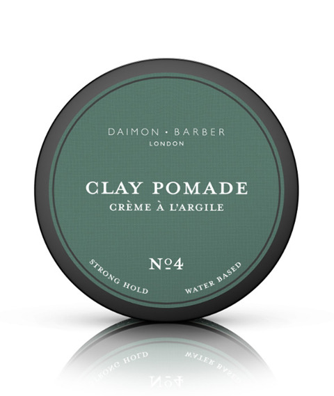 Daimon Barber - No4 Clay Pomade Pomada do Włosów 100g