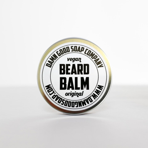 Damn Good Soap-Vegan Beard Balm Original Balsam do Brody 50ml