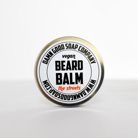 Damn Good Soap-Vegan Beard Balm The Streets Balsam do Brody 50ml