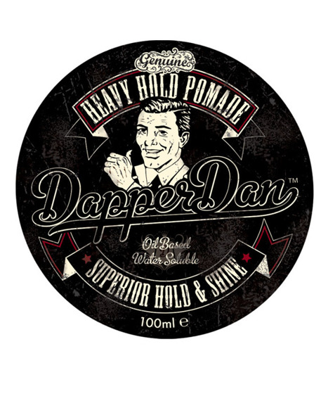 Dapper Dan-Heavy Hold Pomade Pomada do Włosów 100ml