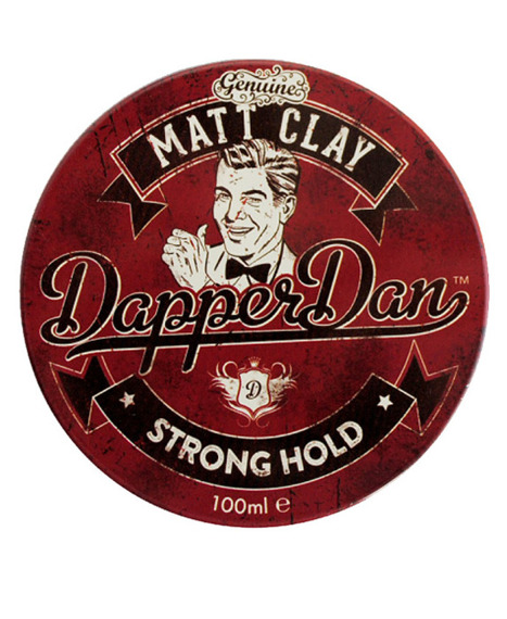 Dapper Dan-Matt Clay Pomade Matowy Wosk do Włosów 100ml