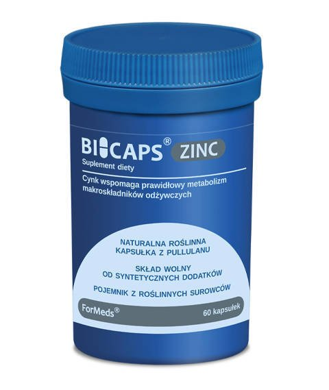 ForMeds-BICAPS ZINC Suplement Diety Cynk 60 kapsułek