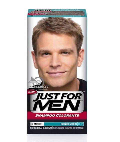 Just for Men-Szampon Odsiwiający do Włosów H-15 Dark Blonde