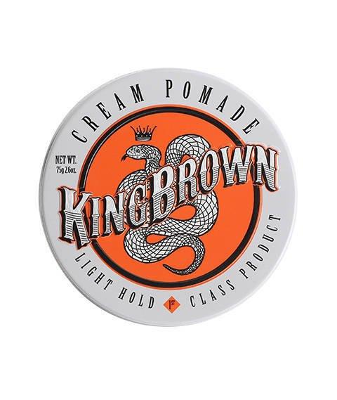 King Brown-Cream Pomade Pomada do Włosów 75 g