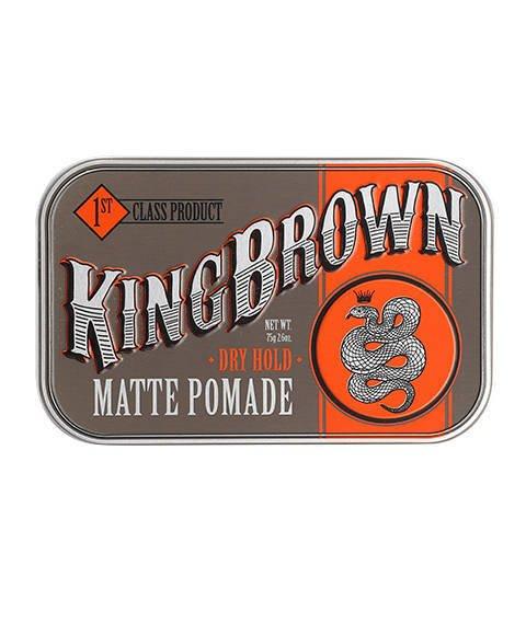King Brown-Matte Pomade Matowa Pomada do Włosów 75 g