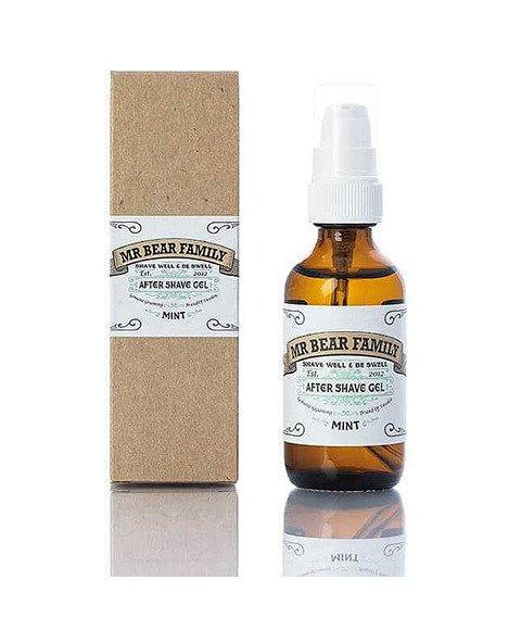 Mr Bear-After Shave Gel Mint Żel po Goleniu 60 ml
