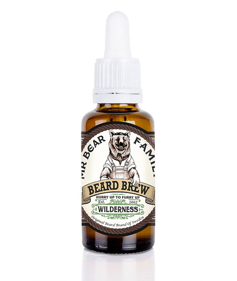 Mr Bear-Beard Brew Oil Wilderness Olejek do brody 30ml