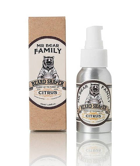 Mr Bear-Beard Shaper Citrus Lekki Balsam do Brody 50 ml