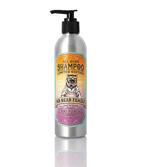 Mr Bear-Shampoo Tiki Punch Szampon do Włosów 250ml