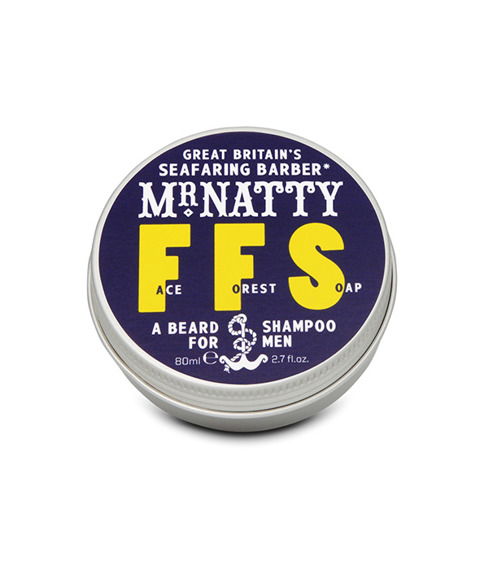 Mr Natty-Face Forest Soap Mydło do Brody 80g