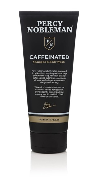 Percy Nobleman Caffeinated Shampoo & Body Wash 200ml