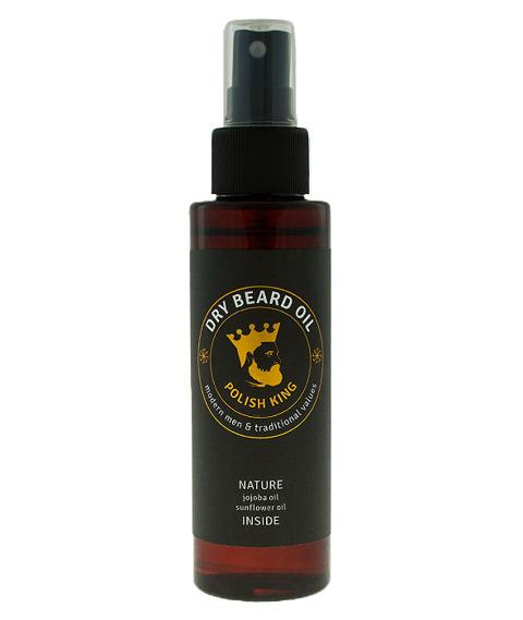Polish King-Dry Beard Oil Suchy Olejek do Brody 100ml