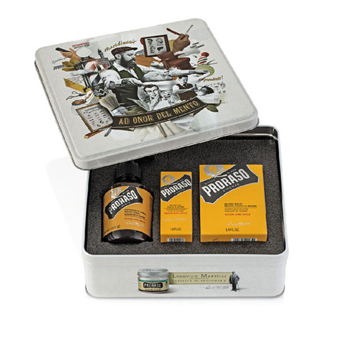Proraso-Beard Kit Wood & Spice Zestaw