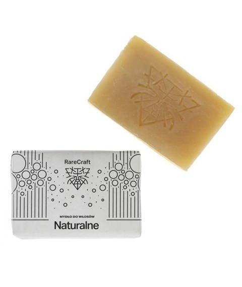 RareCraft-Naturalne Mydło do Włosów 110 g