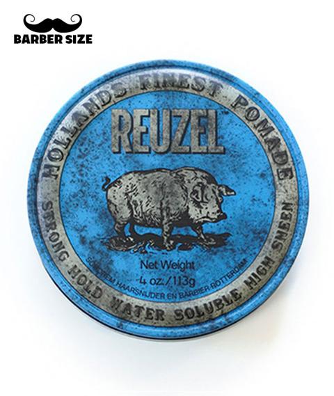Reuzel-Blue Water Soluble Heavy Hold Hog Wodna Pomada340g
