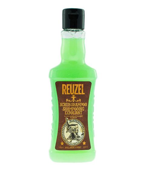 Reuzel-Scrub Shampoo Oczyszczający Szampon do Włosów 350 ml.