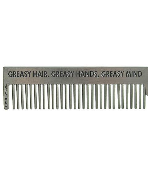 Schmiere-Hotrod Greaser Comb Grzebień do Włosów