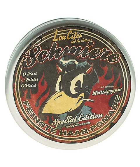 Schmiere-Pomade Medium Lou Cifer and the Hellions Pomada do Włosów 140ml