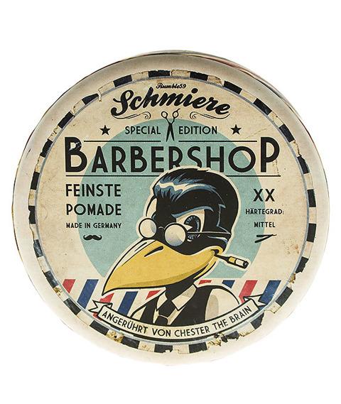 Schmiere- Special Edition Barbershop Pomade Medium Pomada do Włosów 140ml
