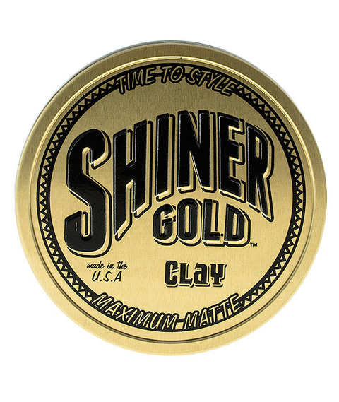 Shiner Gold-Clay Pomade Pomada do Włosów 113g