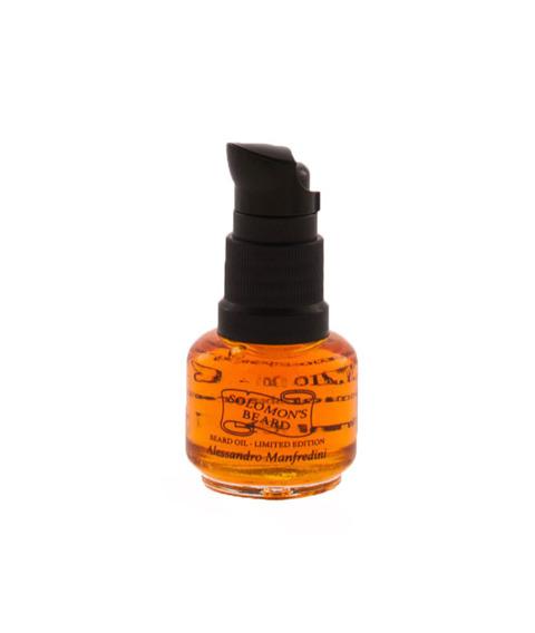Solomon's Beard-Oil Limited Edition By Alessandro Manfredini Olejek do brody 15 ml