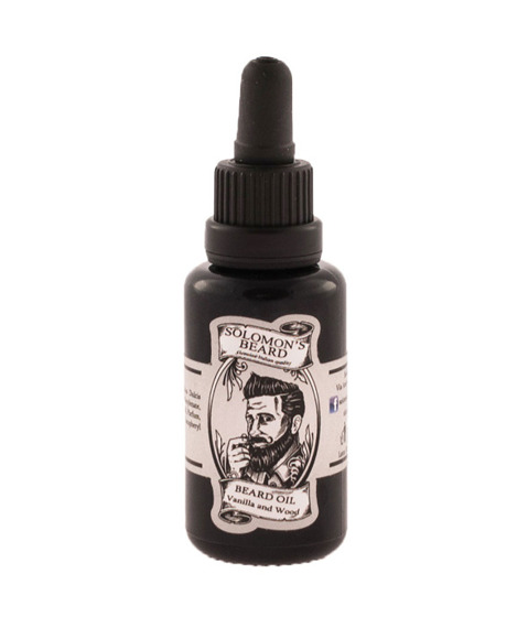 Solomon's Beard-Oil Vanilla & Wood Olejek do brody 30 ml