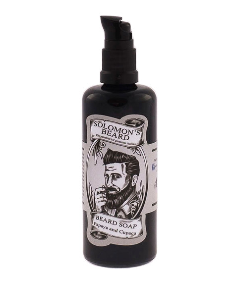 Solomon's Beard-Shampoo Papaya & Cupacu Szampon do brody 100 ml