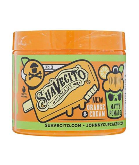 Suavecito-Johnny Cupcakes Matte Pomade Orange & Cream LTD 2020 Pomada 113g