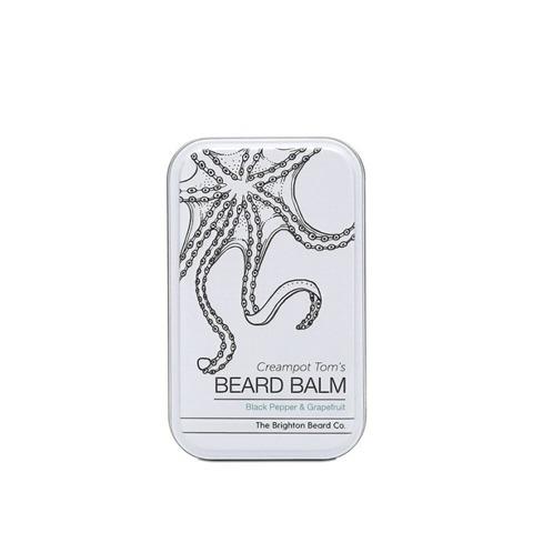 The Brighton Beard Co-Creampot Tom's Beard Balm Black Pepper & Grapefruit Balsam do Brody 40ml