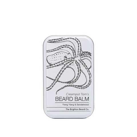 The Brighton Beard Co-Creampot Tom's Beard Balm Ylang Ylang & Sandalwood Balsam do Brody 40ml