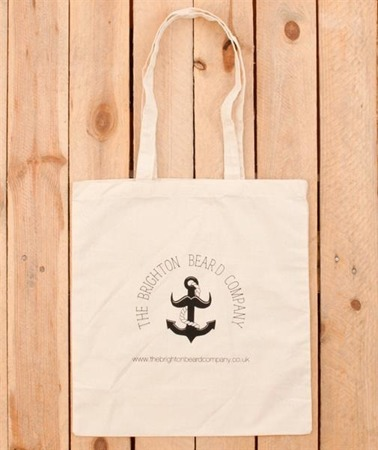The Brighton Beard Co-Logo cotton shopper tote bag