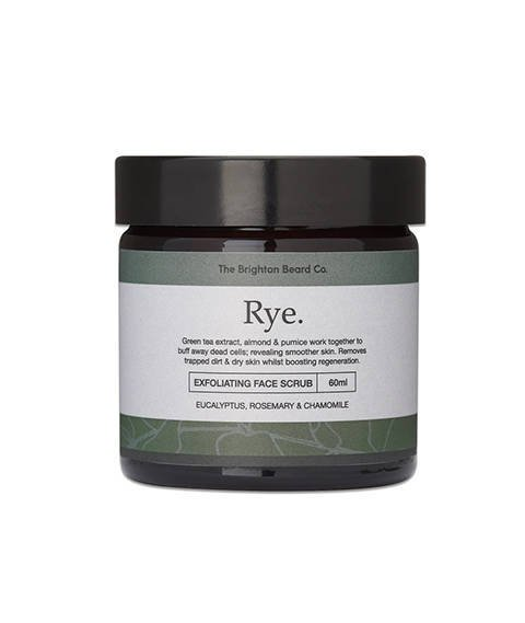 The Brighton Beard Co-Rye Exfoliating Face Scrub Peeling do Twarzy 60 ml