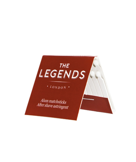 The Legends London-Zapałki Ałunowe 20szt