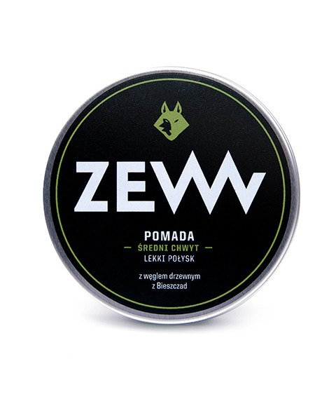 ZEW-Pomada do Włosów z Węglem Drzewnym 100ml