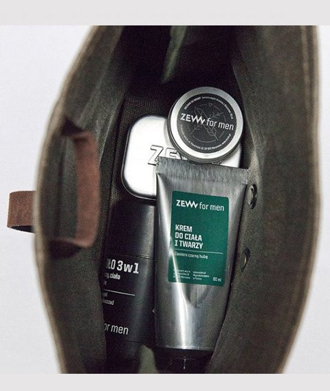 Zew-Kosmetyczka Podróżnika Lniana